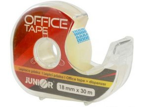 Lepicí páska Junior s dispenzorem 18 mm x 30 m