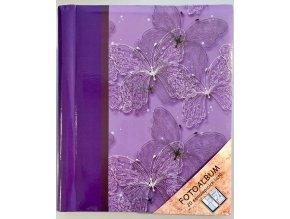 Fotoalbum samolepící DRS-20 motýl fialový