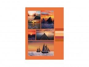 Fotoalbum samolepící DRS-30 Sailing 2 oranžové