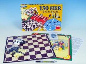 Soubor her 150 společenská hra v krabici 33x23x3,5cm