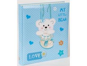 Fotoalbum na fotorůžky DBCL-30 Teddy bear modrý