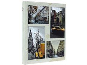 Fotoalbum 10x15/200foto B-46200S City time béžové