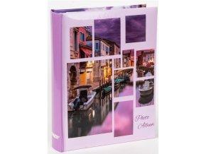 Fotoalbum 10x15/200foto B-46200S Collage 2 fialové