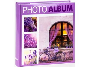 Fotoalbum 10x15/200foto KD-46200 Terracotta 2 fialové