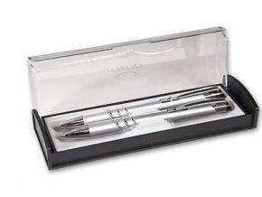 Sada Adriana Kuličkové pero + mikrotužka stříbrná