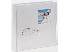 Fotoalbum 10x15/200foto KD-46200W Love 1 bílé