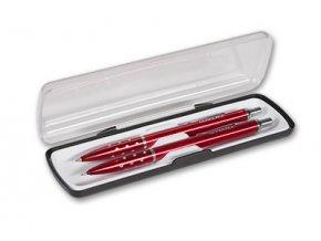 Sada Elite Kuličkové pero + mikrotužka červená