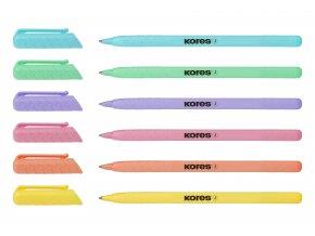Kuličkové pero Kores K0 Pen pastel