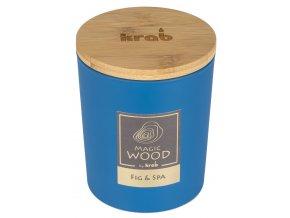 Svíčka MAGIC WOOD s dřevěným knotem - FIG & SPA 300g