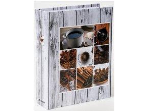 Fotoalbum 10x15/200foto MM-46200 Coffee 2 šedé