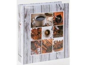 Fotoalbum samolepicí DRS-50 Coffee 2 šedé