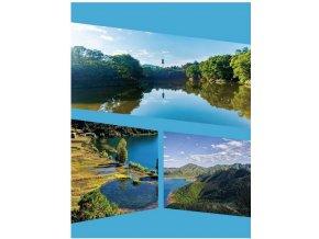 Fotoalbum samolepící DRS-30 Native 2 modré