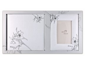 Fotoalbum 10x15/200foto DS+rámeček Wedding DS51W bílý