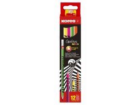 Trojhranná obyčejná tužka Grafitos Neon