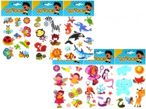 Obtisky vodové barevné dětské 10x15cm TAD1