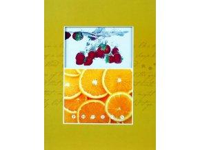Fotoalbum 10x15/200foto B-46200 Fruity žlutý