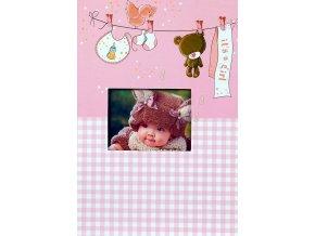 Fotoalbum 9x13/200foto B-35200S(CB) Teddy růžový