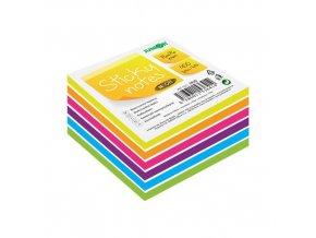 Blok/kostka samolepicí Sticky Notes - Neon/White 76x76 mm/400 l.
