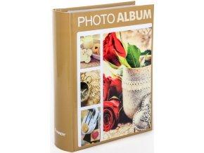 Fotoalbum 10x15/300foto B-46300/2S Terracotta 1 béžové