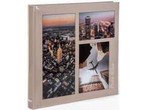 Fotoalbum 10x15/500foto B-46500S Metropolis 1 béžové