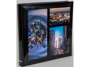 Fotoalbum 10x15/500foto B-46500S Metropolis 2 černé