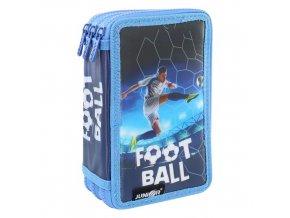 Penál plátěný plný - 3 patrový, 31 dílný - Seria 4 - Football 2