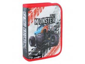 Penál plátěný plný 31 dílný - Seria 4 - Monster Truck
