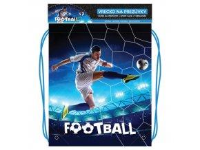 Vrecko na prezuvky s potlačou - Seria 4 - Football 2