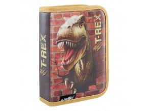 Penál plátěný prázdný - Seria 4 - T-Rex