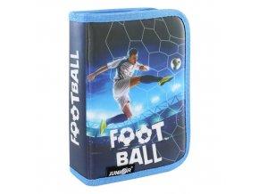 Penál plátěný prázdný - Seria 4 - Football 2