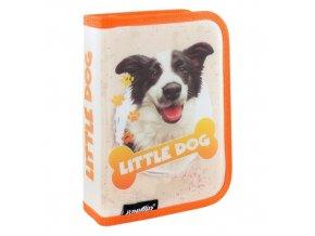 Penál plátěný prázdný - Seria 4 - Little Dog