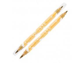 Popisovač M&G Miffy Marker 1 mm oboustranný, zlatý