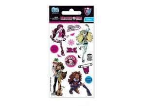 Samolepky Monster High Glitter - 2 POSLEDNÍ KUSY -