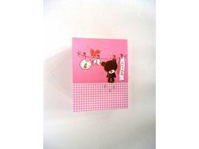 Fotoalbum 10x15/96foto DXP 4696 Teddy růžový