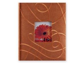 Fotoalbum 10x15/200foto KD46200 Inspire oranžový - 2 POSLEDNÍ KUSY -