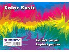 Lepicí papíry Basic