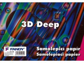 Samolepicí papíry 3D Deep