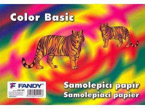 Samolepicí papíry Basic