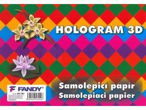 Samolepicí papíry Hologram 3D