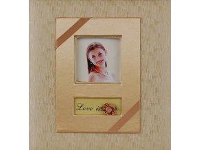 Fotoalbum 10x15/200foto ABB46200M WB-7 Wedding zlatý
