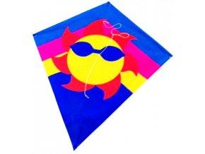 Létajicí drak slunce 60x70x250 cm nylon - 2 POSLEDNÍ KUSY -