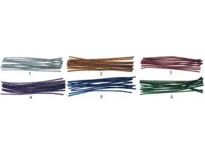 Žinilka lesklá chlupaté modelovací drátky 16ks v sáčku 29cm 6703