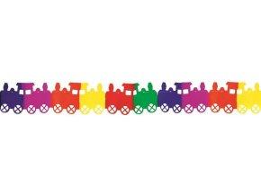 Girlanda 400x17x18cm - vláček 9014