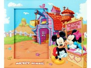 Fotorámeček D46 G3 Disney Mickey Minnie 2 10x15 - 2 POSLEDNÍ KUSY -