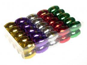 Stuha 5mm x 20m lesklá - různé barvy