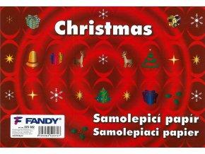 Samolepicí papíry Christmas