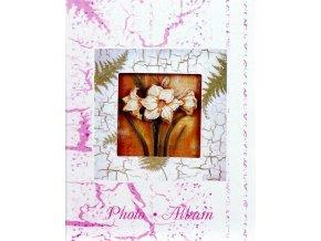Fotoalbum 9x13/100foto MM-35100(CA) Lily fialový - 3 POSLEDNÍ KUSY -
