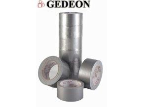 Textilní lepící páska Gedeon 48mm x 25m stříbrná (silver) - 3 POSLEDNÍ KUSY -