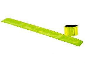 Náramek reflexní 3x30cm žlutá