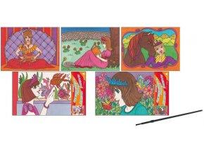 Malování vodou princezny 28x21,5cm 6759 - 2 POSLEDNÍ KUSY-